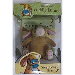 Parragon - Bunny Loves To Read Book & Plush Set