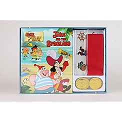 Jake & The Neverland Pirates - Junior Read And Play Pirate Set