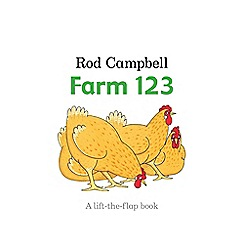 MacMillan books - Farm 1234 lift the flap book