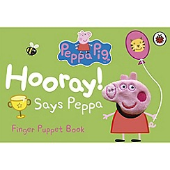 Penguin - Peppa Pig: Hooray Says Peppa: Finger Puppet Book