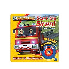 Harper Collins - Fireman Sam Start the Siren! Emergency Sound Book