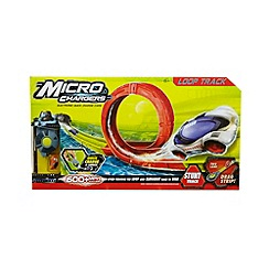 Micro Chargers - Loop race track toy