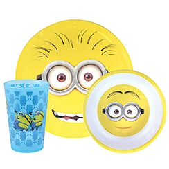 Despicable Me - Minions 3 piece dinner set