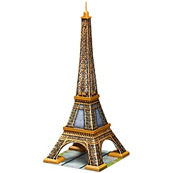Ravensburger - Eiffel Tower Building 3D Puzzle, 216pc  puzzle