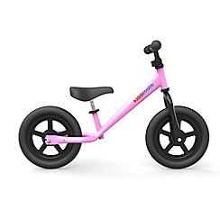 kiddimoto - Super Junior pink balance bike