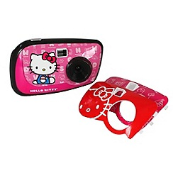 Hello Kitty - 2.1Mp Digital Camera & 3 Face Plates