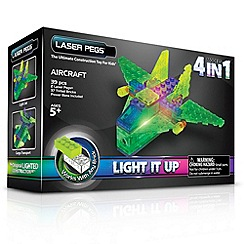 Laser Pegs - 4 in1 MPS Aircraft