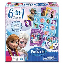 Disney Frozen - 6 in 1 games