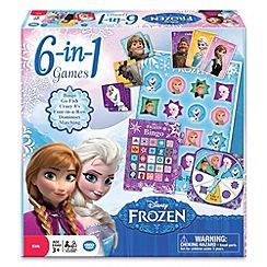 Disney Frozen - 6 in 1 games