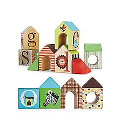 Skip Hop - Alphabet Zoo House Blocks