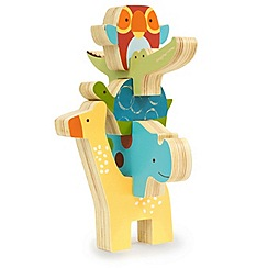 Skip Hop - Giraffe Safari Stacking Animal Blocks
