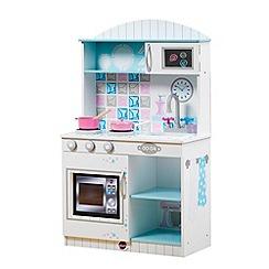 Plum - Snowdrop interactive wooden kitchen