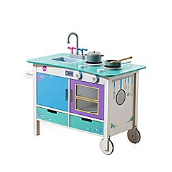 Plum - Cook-a-Lot Trolley wooden kitchen