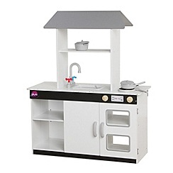 Plum - Boston wooden role play kitchen with accessories