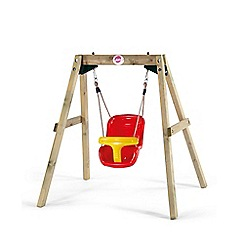 Plum - Wooden Baby Swing Set