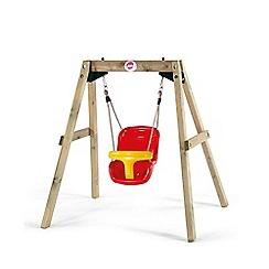 Plum - Wooden Baby Swing Set