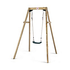 Plum - Wooden Single Swing Set