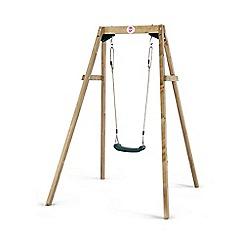 Plum - Wooden Single Swing Set