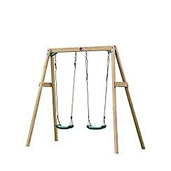 Plum - Wooden Double Swing Set