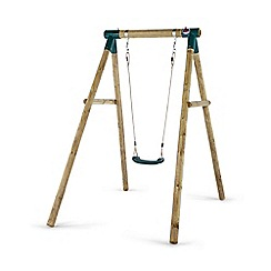 Plum - Bush Baby Wooden Garden Swing Set