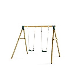 Plum - Marmoset Wooden Garden Swing Set