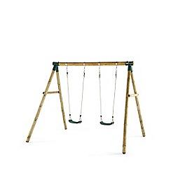 Plum - Marmoset Wooden Garden Swing Set