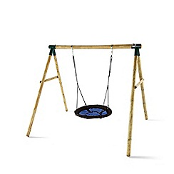 Plum - Spider Monkey II Wooden Garden Swing Set