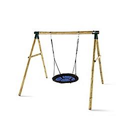 Plum - Spider Monkey II Wooden Garden Swing Set