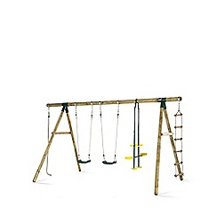 Plum - Orang-Utan Wooden Garden Swing Set