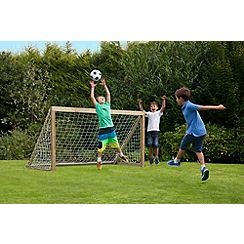 Plum - 6x4 Premium Wooden Football Goal
