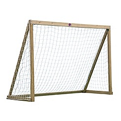 Plum - 8x6 Premium Wooden Football Goal