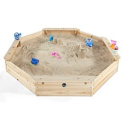 Plum - Outdoor Play Giant Wooden Sand Pit