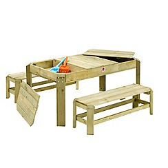 Plum - Premium Wooden Activity Table and Benches