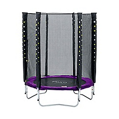Plum - Stardust Trampoline and Enclosure