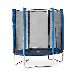 Plum - 6ft Trampoline and Enclosure-Blue