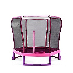 Plum - 7ft Pink/Purple Jumper Trampoline and Enclosure