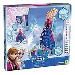 Disney Frozen - Anna & Elsa sticky mosaics