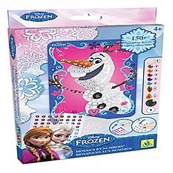 Disney Frozen - Olaf sticky mosaics