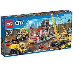 Lego - City Demolition Demolition Site - 60076