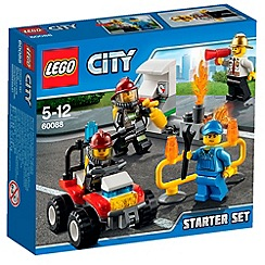 Lego - City Fire Fire Starter Set - 60088