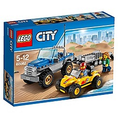 LEGO - City Great Vehicles Dune Buggy Trailer - 60082