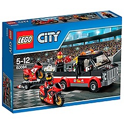 LEGO - City Great Vehicles Racing Bike Transporter - 60084