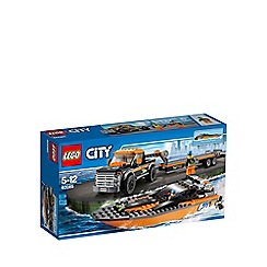 Lego - City Great Vehicles 4x4 with Powerboat - 60085