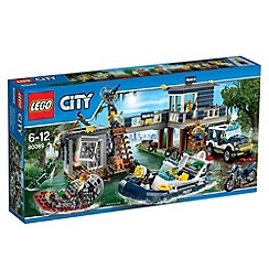Lego - City Police Swamp Police Station - 60069