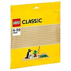 Lego - Classic Sand Baseplate - 10699