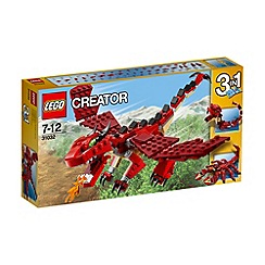 Lego - Creator Red Creatures - 31032