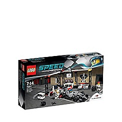 Lego - Speed Champions McLaren Mercedes Pit Stop - 75911