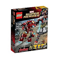 LEGO - Super Heroes - Marvel Comics  The Hulk Buster Smash - 76031