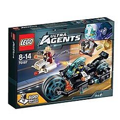 Lego - Ultra Agents Invizable Gold Getaway - 70167