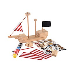 Early Learning Centre - Make your own pirate ship